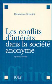 Les conflits d'intérêts dans la société anonyme