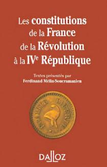 Les constitutions de la France de la Révolution à la IVe République (mini format)