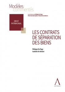 Les contrats de séparation des biens
