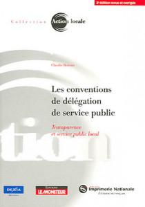 Les conventions de délégation de service public