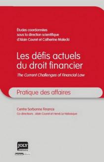 Les défis actuels du droit financier