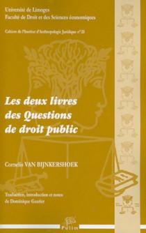 Les deux livres des questions de droit public (1 livre + 1 CD-Rom)