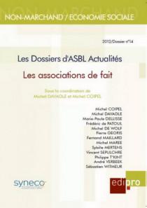 Les dossiers d'ASBL Actualités - Les associations de fait