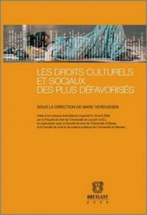 Les droits culturels et sociaux des plus défavorisés