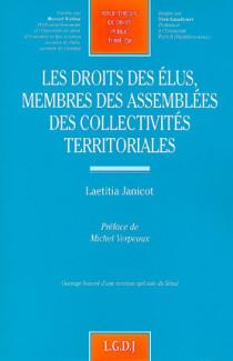 Les droits des élus membres des assemblées des collectivités territoriales
