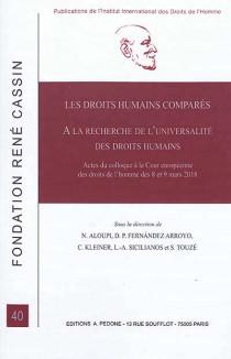 Les droits humains comparés
