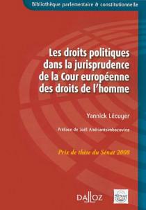 Les droits politiques dans la jurisprudence de la Cour européenne des droits de l'homme
