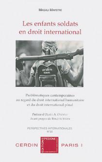 Les enfants soldats en droit international