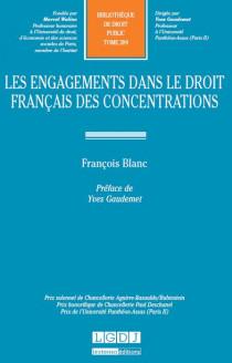 Les engagements dans le droit français des concentrations