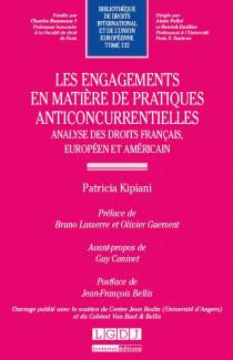 Les engagements en matière de pratiques anticoncurrentielles