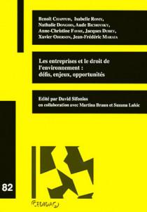 Les entreprises et le droit de l'environnement : défis, enjeux, opportunités