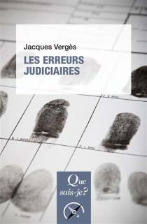 Les erreurs judiciaires