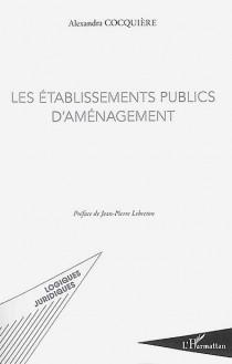Les établissements publics d'aménagement
