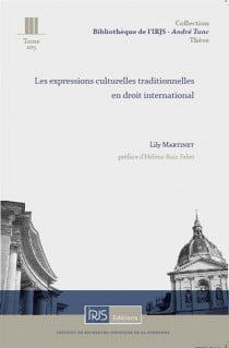 Les expressions culturelles traditionnelles en droit international