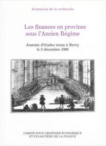 Les finances en province sous l'Ancien Régime