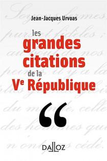Les grandes citations de la Ve République (mini format)