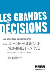 [EBOOK] Les grandes conclusions de la jurisprudence administrative