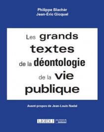 [EBOOK] Les grands textes de la déontologie de la vie publique