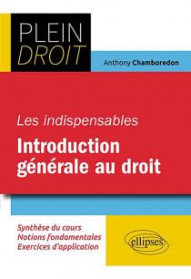 Les indispensables de l'introduction générale au droit