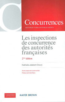 Les inspections de concurrence des autorités françaises