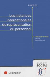 Les instances internationales de représentation du personnel