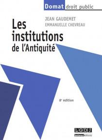 Les institutions de l'Antiquité