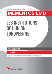[EBOOK] Les institutions de l'Union européenne