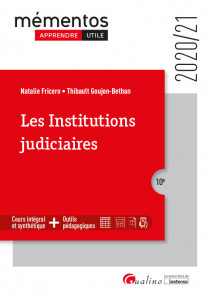 [EBOOK] Les institutions judiciaires