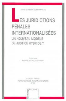 Les juridictions pénales internationalisées