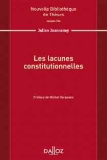 Les lacunes constitutionnelles