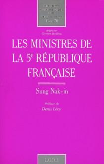 Les ministres de la Ve République française