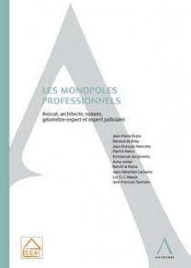 Les monopoles professionnels