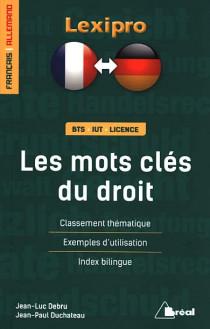 Les mots-clés du droit français-allemand