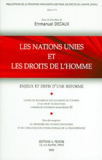 Les Nations Unies et les droits de l'Homme