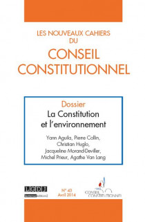 Les Nouveaux Cahiers du Conseil Constitutionnel, avril 2014 N°43