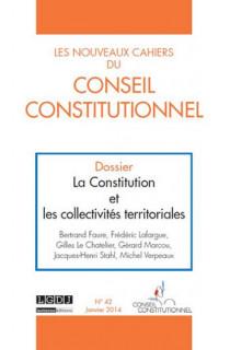 Les Nouveaux Cahiers du Conseil Constitutionnel, janvier 2014 N°42