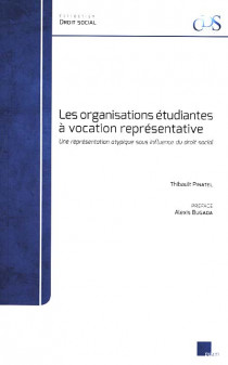 Les organisations étudiantes à vocation représentative