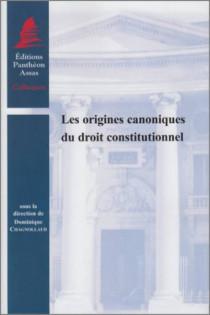 Les origines canoniques du droit constitutionnel