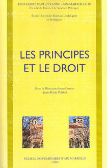 Les principes et le droit