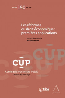 Les réformes du droit économique : premières applications