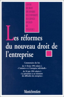 Les réformes du nouveau droit de l'entreprise