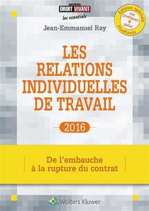 Les relations individuelles de travail 2016