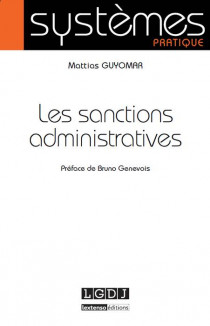 Les sanctions administratives