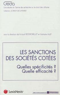 Les sanctions des sociétés cotées