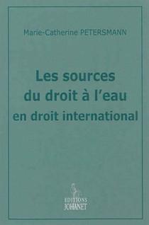 Les sources du droit à l'eau en droit international