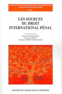 Les sources du droit international pénal