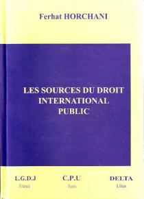 Les sources du droit international public