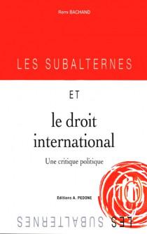 Les subalternes et le droit international