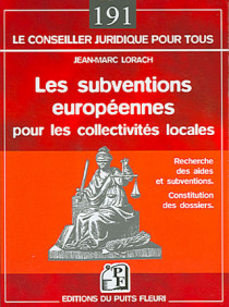 Les subventions européennes