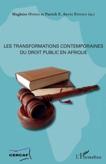 Les transformations contemporaines du droit public en Afrique